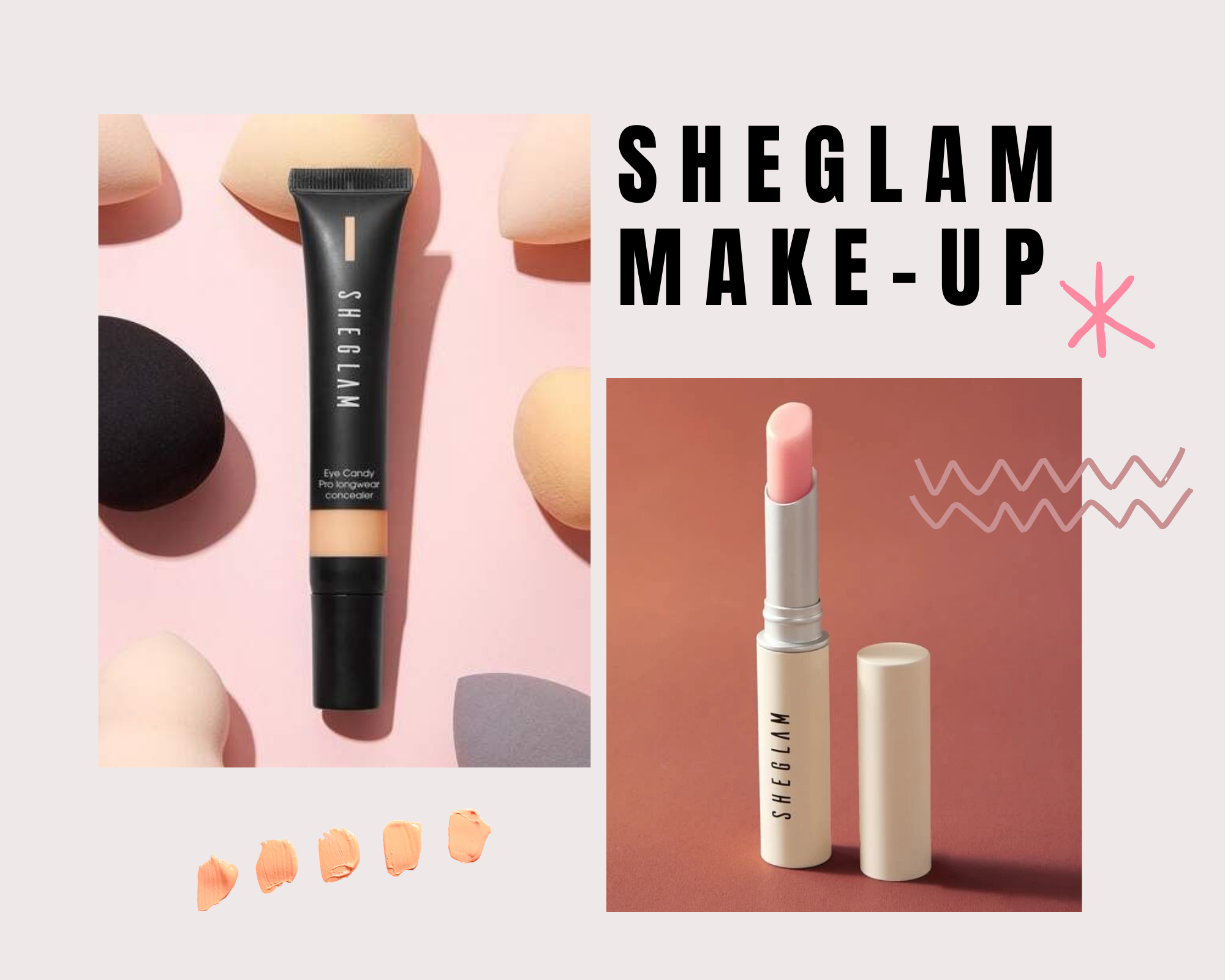 Review Shein Make-Up