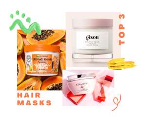 Hair masks for demaged hair - top 3 options