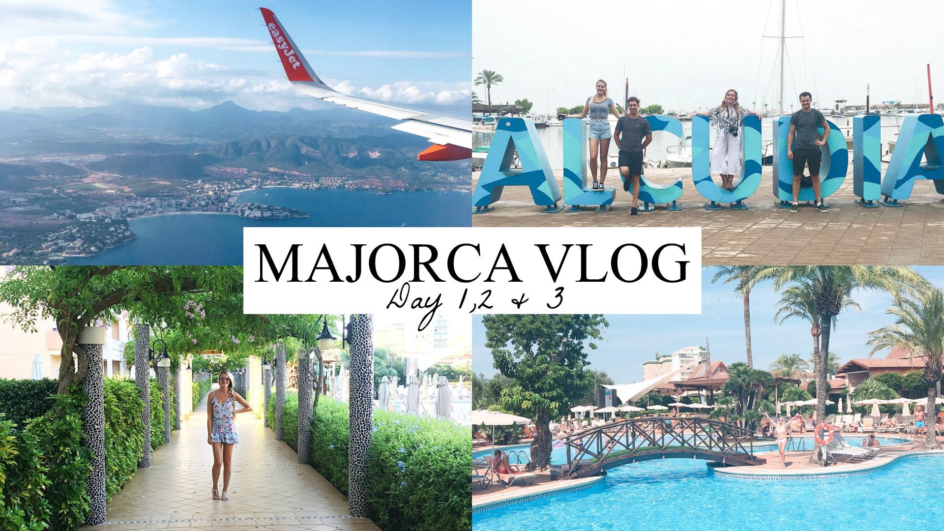 MAJORCA VLOG DAY 1,2 &3 Alcudia, biking & holiday outfits