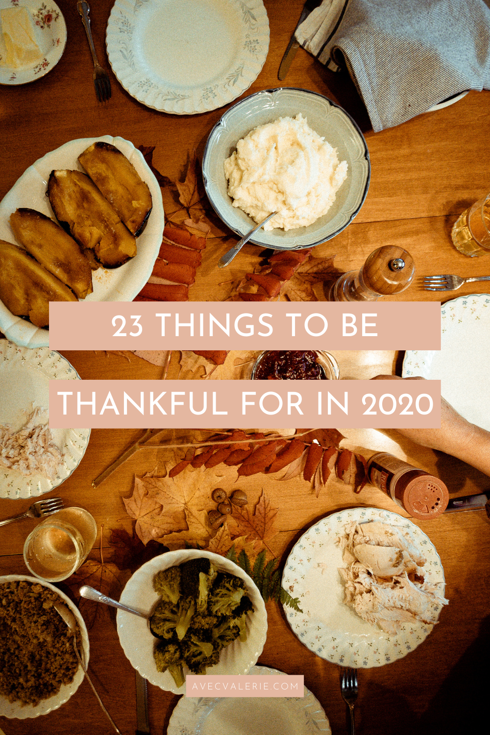 23 Things to be Thankful for in 2020