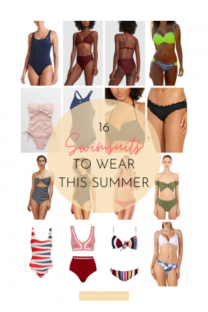 16 Swimsuit Styles to Wear This Summer