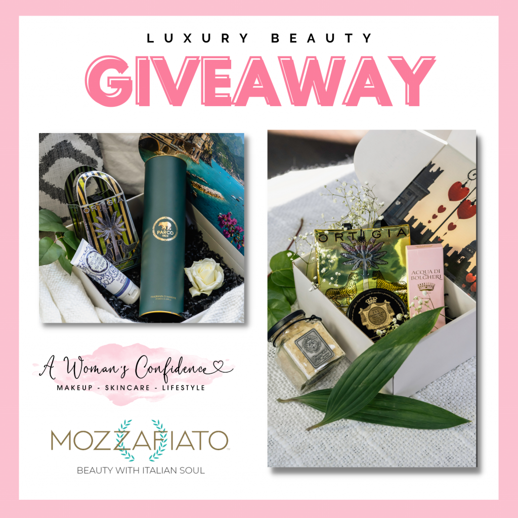 GIVEAWAY: Win a quarterly luxury beauty box subscription worth $197 for 1 year from Mozzafiato