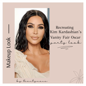 Recreating Kim Kardashian's Vanity Fair Oscar Party Look
