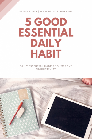 5 Daily Healthy Habits For Higher Productivity