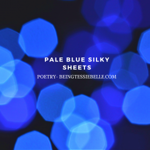 Pale Blue Silky Sheets