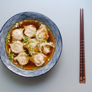 Vegetarian Wonton Soup Recipe