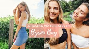 My First Vlog | Chasing Waterfalls in Byron Bay