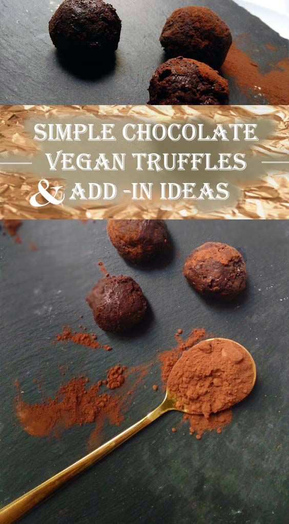 Lovely Little Truffles & Add-in Ideas! | Vegan Treats