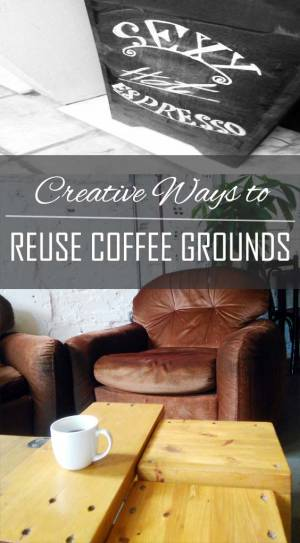 REUSING COFFEE GROUNDS | WASTE NOT LIFESTYLE