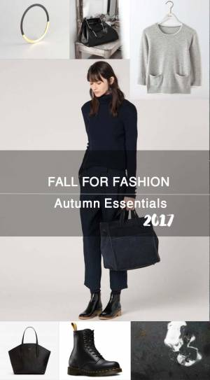 FALL FOR FASHION | Autumn Essentials