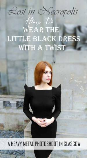 Lost in Necropolis * | Little Black Dress with a Twist
