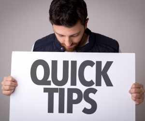 A quick note on 'Quickies'