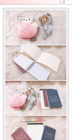 Dazed Mari's First Giveaway { Vintage Stationery + Mini Rilakkuma & Korilakkuma