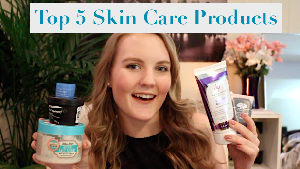 TOP 5 SKINCARE PRODUCTS