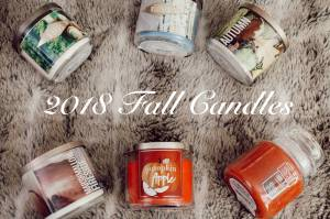 2018 AUTUMN CANDLES | BATH & BODY WORKS | YANKEE CANDLE