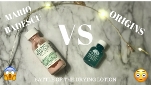 WHICH ONE IS WORTH YOUR MONEY? | MARIO BADESCU VS ORIGINS | ACNE SPOT REMOVER