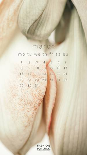 March 2021 Screensavers: Women Empowerment & Body Positivity Calendars