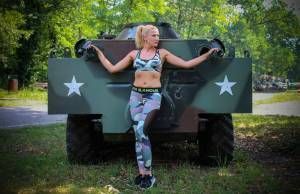 Leggings Army Design