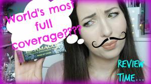 World's most full cover foundation?!! Dermacol review | Haley-Louise