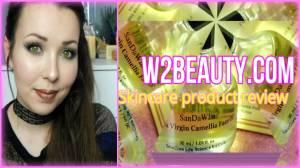 W2Beauty.com Skincare review