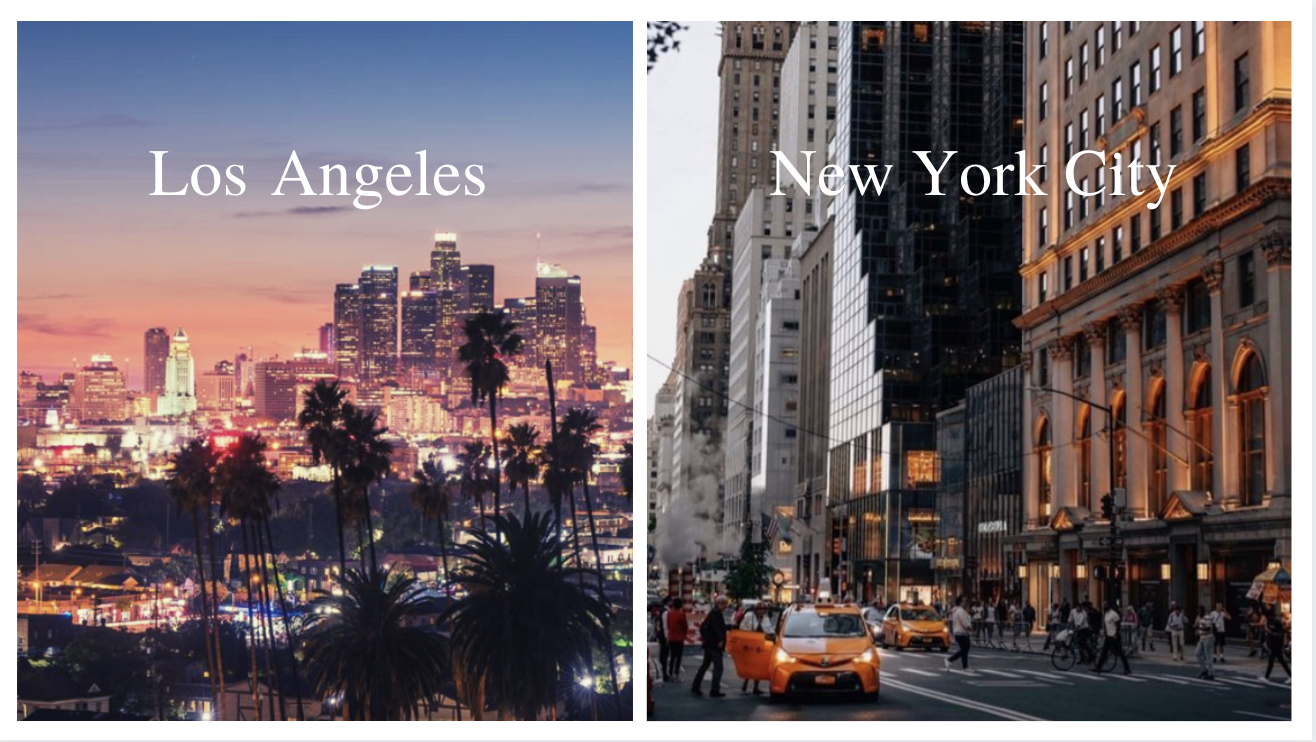 New York or Los Angeles: which city is for you?
