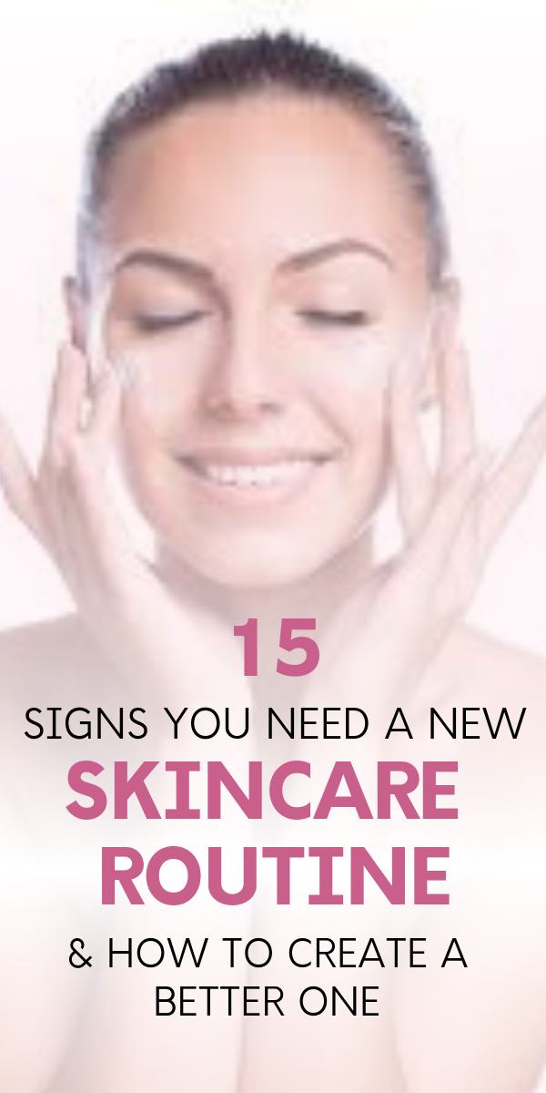 15 signs your skin needs a break from your skincare routine