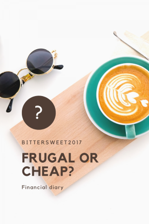 Financial diary: Frugal or cheap?
