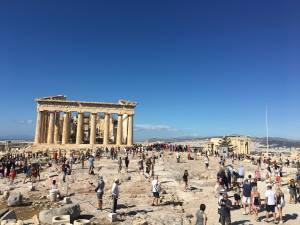 Traveling: Unlocking Athena, Greece