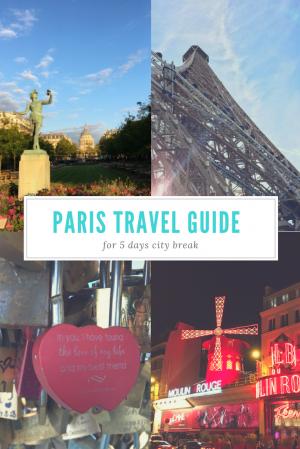 Traveling: Paris, La Ville D'Amour
