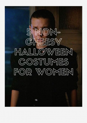 5 Unusual & Non-Cheesy Halloween Costumes for Women