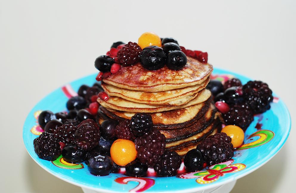 Power breakfast for exercising