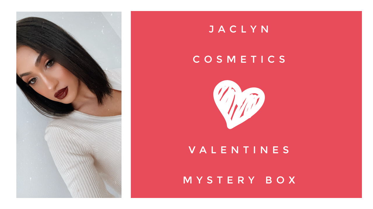 Jaclyn Cosmetics Valentines Mystery Box