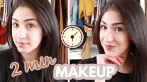 2 Minute Refresh   Quickest Makeup Tutorial