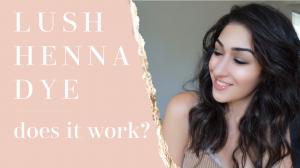 Lush Henna   Does it work!?