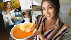 | Tomato Soup & Grilled Cheese With a Chrissy Teigen Twist |