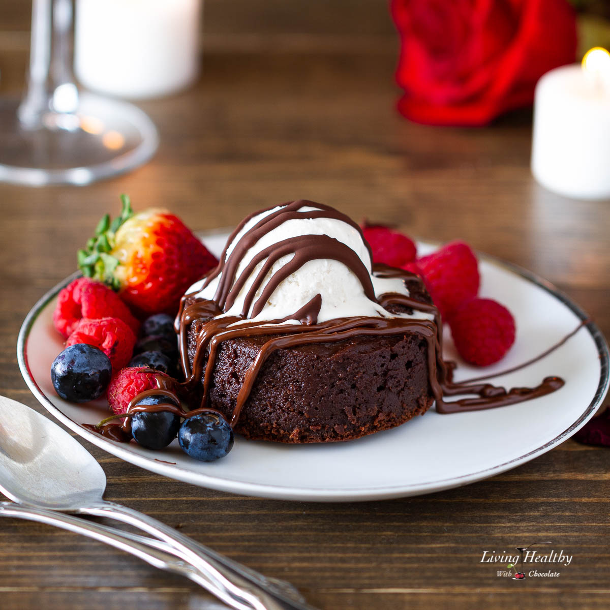 The Best Molten Lava Brownies (Cake)