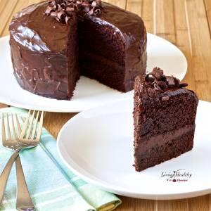 Paleo Chocolate Cake (Grain, Gluten, Dairy Free)