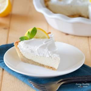 Paleo Lemon Cream Pie (gluten/grain/egg/dairy-free)