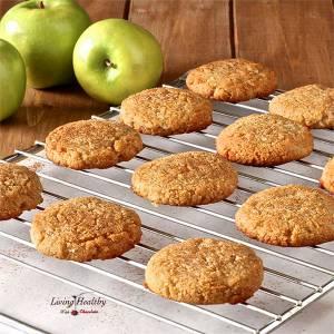 Apple Cinnamon Cookies (gluten/grain/dairy/egg-free)