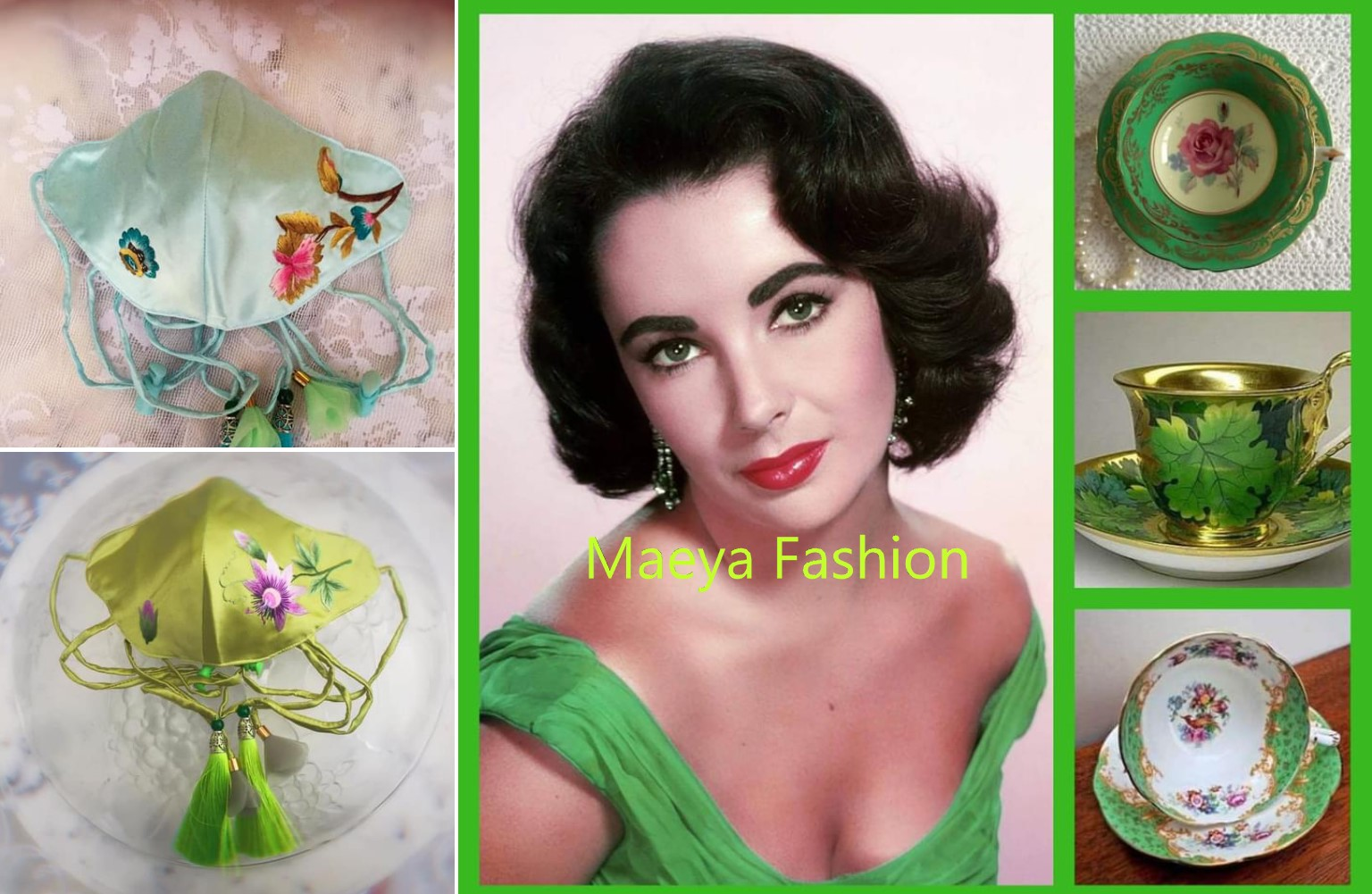 In the Time of Love for Embroidery---Maeya Fashion Story