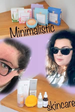 Morning & Night minimalistic skincare routine