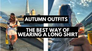 Autumn Outfits - The Best Way of Wearing a Long Shirt