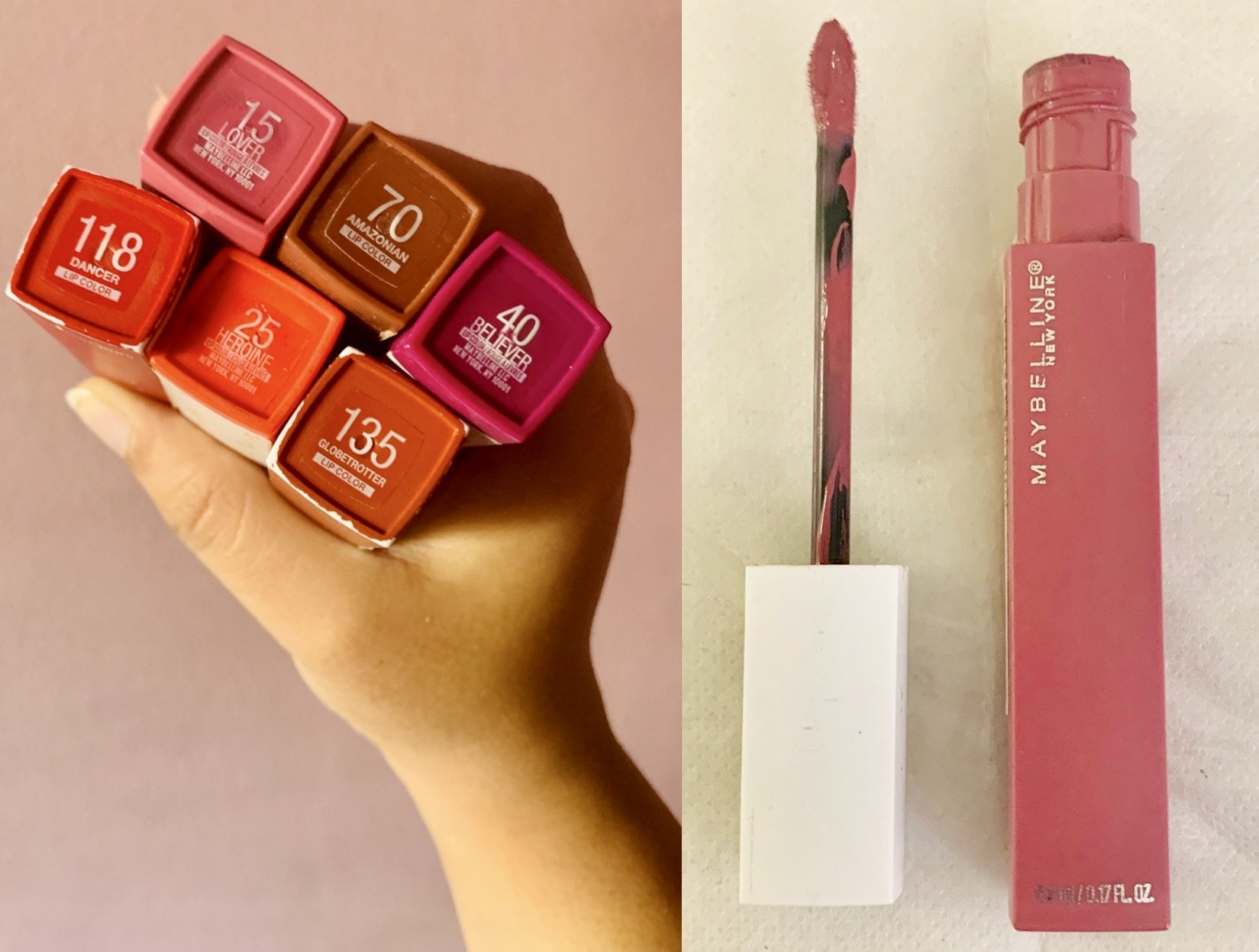 MAYBELLINE SUPERSTAY MATTE INK™ LIQUID LIPSTICK