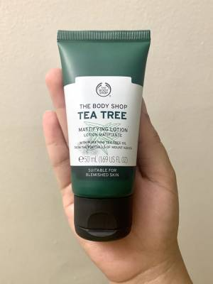 The Body Shop- Tea Tree Mattifying Lotion Review
