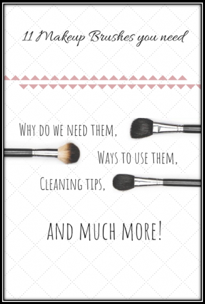 11 Makeup Brushes You Need (w/ the favorite brands & cleansing tips)