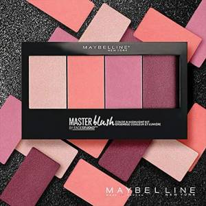 All you need is Maybeline Master Blush Palette