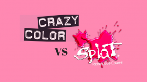 Splat vs Crazy Color Review - Rainbow Hair Colors