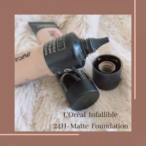 My Experience With L'Oréal Infallible 24H- Matte Foundation