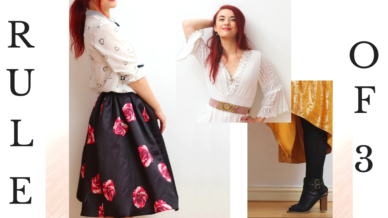From Great Pieces to Great Outfits: 5 Creative Look Formulas Based on Fashion's Rule of 3