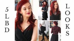 5 Chic, Fresh Ways to Style Your Little Black Dress, in 2 1/2 Minutes